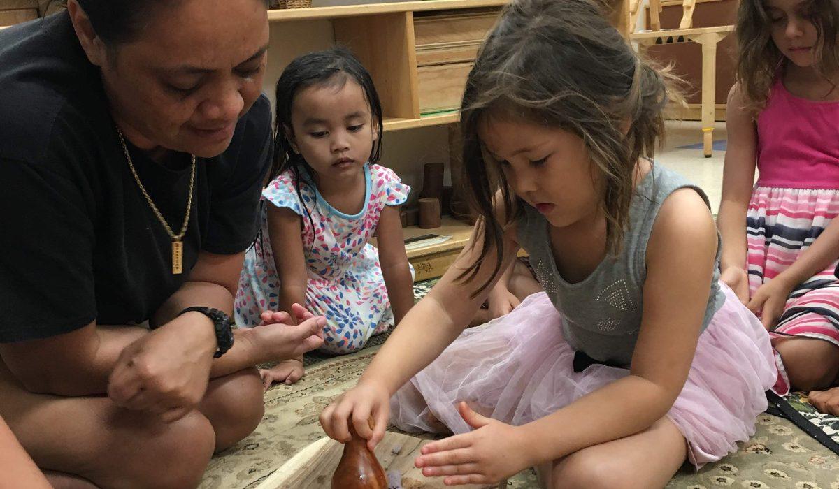 Children Making Poi