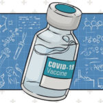 COVID-19 vaccine graphic