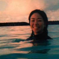 marisa yamada in ocean