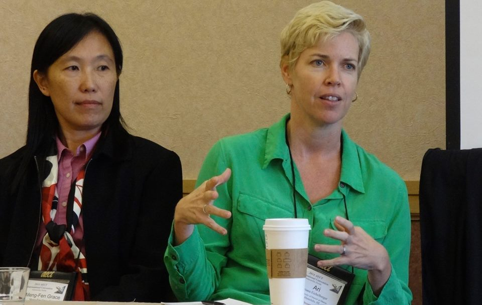 Dr. Grace Lin and Dr. Ariana Eichelberger