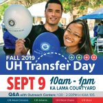 UH Maui College Transfer Day Flyer