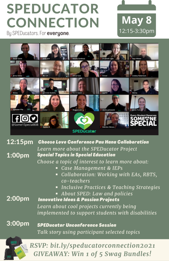 SPEDucator Connection Flyer
