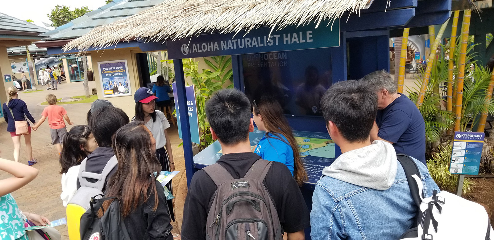Students at Naturalist Hale