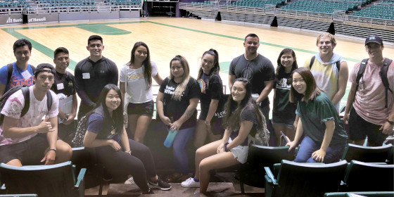 KRS students tour Stan Sheriff Center