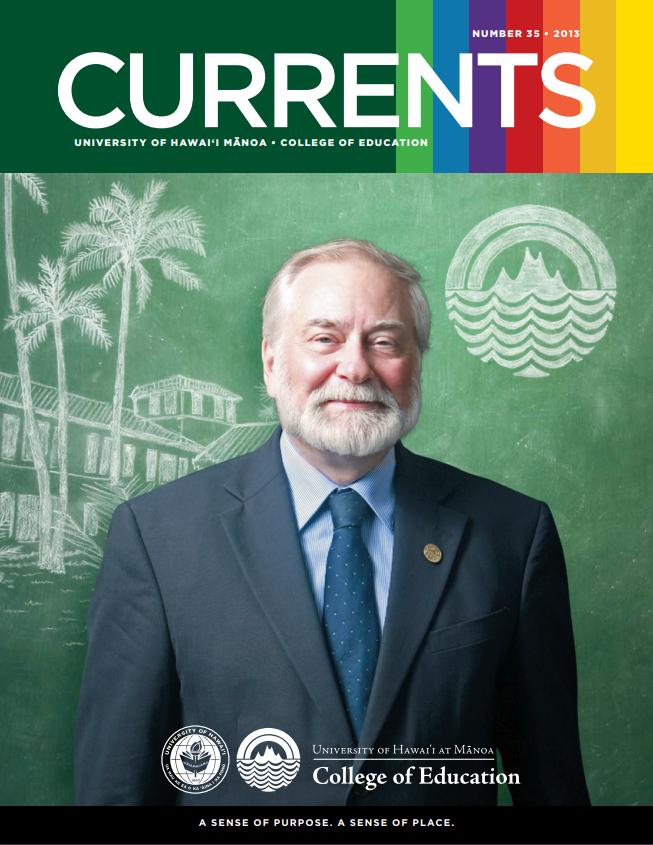 Currents, April 2013 Cover
