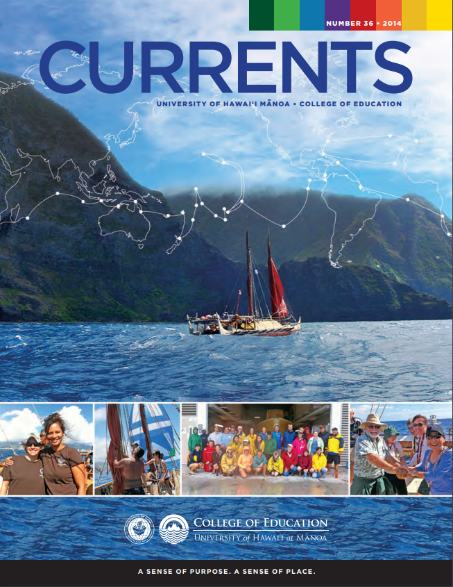Currents, April 2014 Cover
