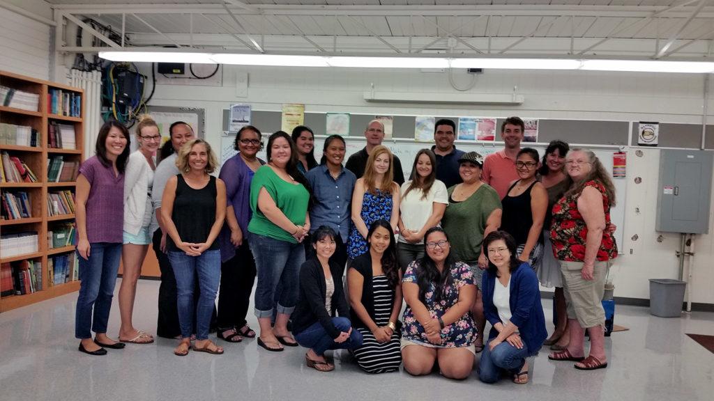 Hawaii Writing Project Group Photo