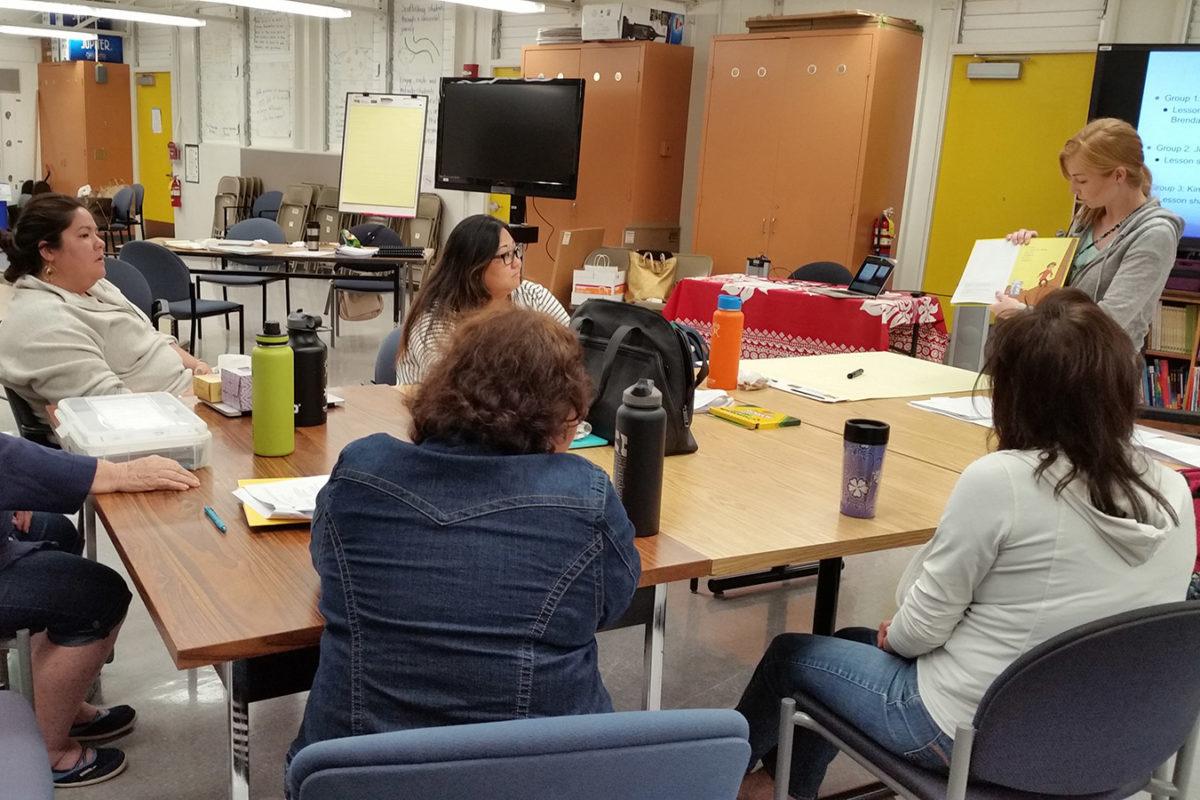 Hawaii Writing Project Class