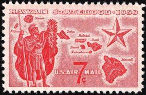 Hawaii stamp - 1959