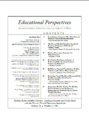 Ed Perspectives 2001-2
