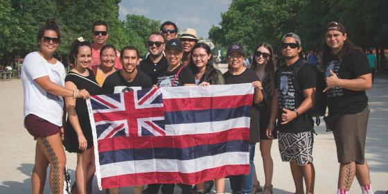 HYA participants in Paris, France