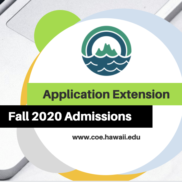 Application Extension for Fall 2020