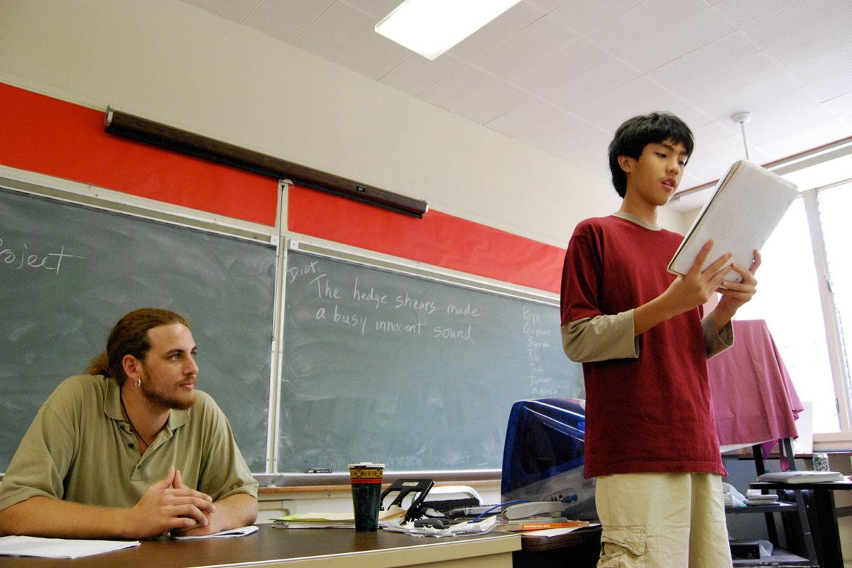 teaching high school