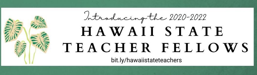Hawaii State Teacher Fellows logo
