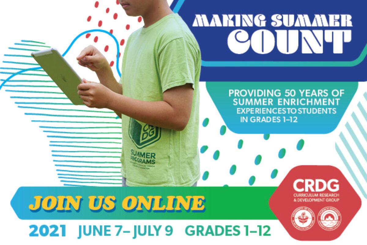 CRDG Summer Programs