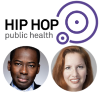 Hip Hop Public Health logo and speakers